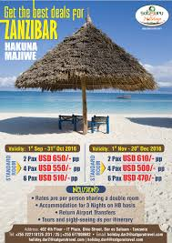 get the best deals for zanzibar package africa holidays