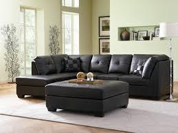 coaster darie leather sectional sofa centerfieldbar com