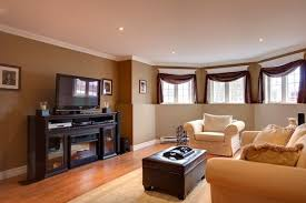 living room paint ideas with brown furniture home decorations