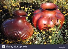 Copper Vases For Sale Copper Vases Santa Clara Del Cobre Michoacan Mexico Stock Photo