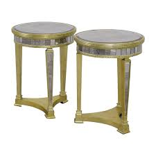 z gallerie side table 83 off z galleries z galleries borghese mirrored side tables tables