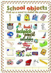 parts of the classroom vocabulary google search ingles