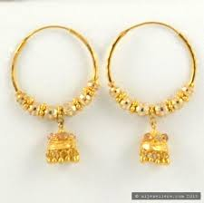 hoops earrings india beautiful gold earrings indian designs jewellry s website
