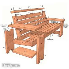 Garden Variety Outdoor Bench Plans by Best 25 Wooden Benches Ideas On Pinterest Wooden Bench Plans