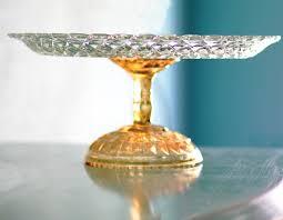 14 cake stand gold cake stand 14 glass cake stand cake platter