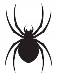 tattoo clipart spider pencil and in color tattoo clipart spider