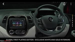 renault captur white interior the renault captur suv edit launched rs 9 99 lakhs page 21