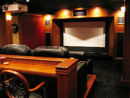 interior diy home theatre of home theatre system in living room