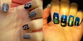 halloween nail designs easy trend manicure ideas 2017 in pictures