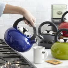 sur la table tea kettle kitchenaid 2 0 quart kettle with c handle and trim band kten20cbis