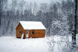 winter cabin kan10 cabin winter hd wallpaper and background image
