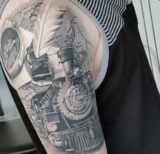 travel tattoo images 75 travel tattoos for men adventure design ideas jpg