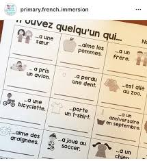 french back to resources primary french immersion resources