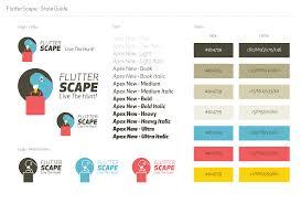 flutter scape bento graphics branding ui ux web design tokyo
