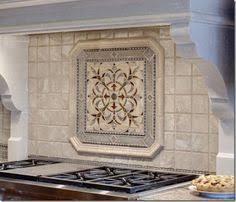 kitchen backsplash metal medallions kitchen backsplash mosaic tile and metal medallions and plaques