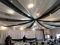 Chiffon Ceiling Draping Ideas About Tulle Curtains For Weddings Bridal Catalog