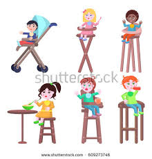 Toddler High Chairs Baby High Chair Stock Images Royalty Free Images U0026 Vectors