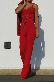 corset jumpsuit buy say no more sleeveless flare bottom corset jumpsuit at