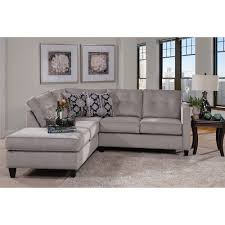 Contemporary Sectional With Chaise Serta Upholstery By Hughes Furniture 1375 Contemporary Sectional