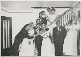 24 charming black and white photos of african american weddings in