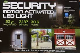 home zone security led motion light costco sale home zone security motion activated led light 31 99