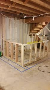 diy basement framing diy room ideas renovation photo under