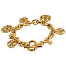 bracelet kors images Michael kors open monogram disc charm bracelet michael kors jpg