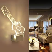 aliexpress com buy acrylic wall lights modern brief living room