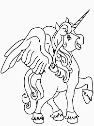 trend unicorn coloring pictures kids book 8962 unknown