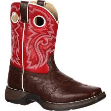 womens cowboy boots at target lil durango kid s square toe pull on boots style bt285