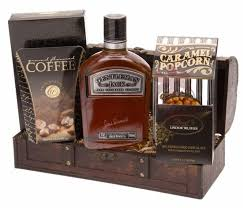 bourbon gift basket such a gentleman whiskey gift basket by pompei baskets