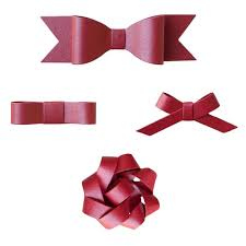 christmas wrapping bow paper bow garland it s all in the wrapping cherished bliss