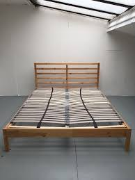 ikea lonset review ikea tarva king size bed frame w lonset slatted bed base must