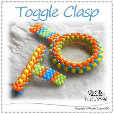 bracelet clasps diy images Toggle clasp tutorial peyote ring and t bar viki 39 s beading jpg