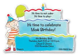 kids birthday invitations u2013 gangcraft net
