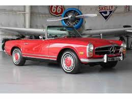 mercedes sl280 mercedes 280sl for sale on classiccars com 45 available