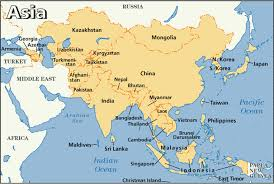 Africa Map Of Countries by Map Of Countries In Asia Roundtripticket Me