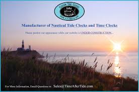 Nautical Appearance Time After Tide Nautical Tide Clocks And Time Clocks