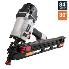 Husky Floor Nailer by Husky 34 Corded Pneumatic Clipped Head Framing Nailer Dpfr3490