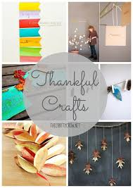 Thankful Tree Craft For Kids - 6 beautiful thankful crafts for thanksgiving things to make and