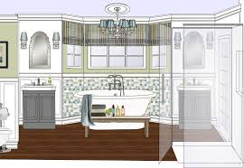 Bathroom Floor Plans Free by Free Bathroom Design Software Online 3d Bathroom Design Software
