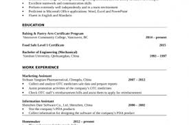 Pastry Chef Resume Examples by Chef Resume Example Entry Level Reentrycorps
