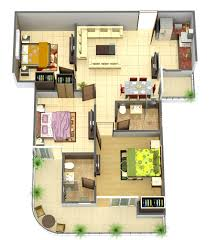 3 Bhk Apartment Floor Plan by 100 3 Bhk Home Design Layout 1 Bedroom Apartment House
