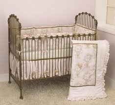 Roses Crib Bedding Crib Bedding For Baby Bedding Pink Roses Cotton Tale