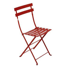 great bistro folding chair set of 2 fermob yliving with folding