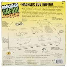 Backyard Safari Habitat by Backyard Safari Adventures Magnetic Bug Habitat Kit Toys
