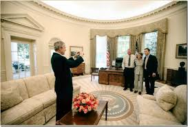 oval office curtains room of the week president obama s new oval office color and style