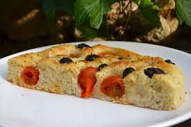 recettes cuisine italienne focaccia pugliese aux tomates et olives la p tite cuisine de pauline