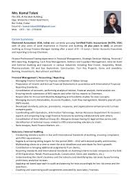 examples of dance resumes komal tolani group finance manager