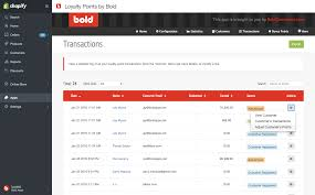 loyalty points by bold u2013 ecommerce plugins for online stores